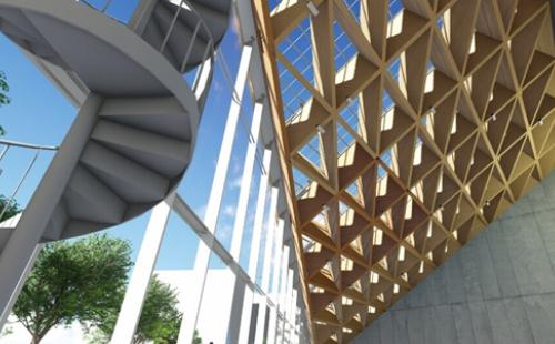 Ứng dụng BIM trong kiến trúc gỗ tại nhật bản
