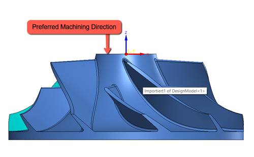 Gia công 5 trục không đồng thời (3 +2) trên solidcam 2021
