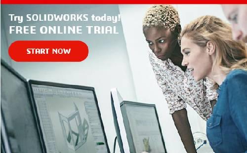 Cơ hội trải nghiệm miễn phí phần mềm SOLIDWORKS