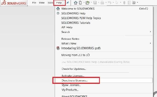 Hướng dẫn activate solidworks license (standalone) trên máy mới