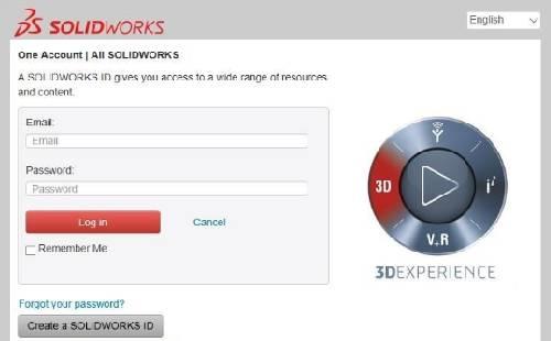 Hướng dẫn tạo tài khoản Solidworks Customer